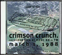 Crimson Crunch: Never Gonna Give You Up, 1996 re-mix, CD cover