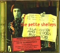 the petite shelleys: the early years, CD cover